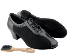 Ladies Women Ballroom Dance Shoes Very Fine EKS9T56 Signature 16 Cuban Heel with Shoe Brush 55 *** Want to know more, click on the image.(This is an Amazon affiliate link and I receive a commission for the sales)
