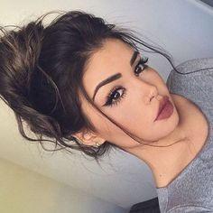 Imagen de girl, makeup, and hair