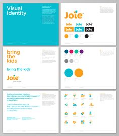 Mike Valentine - Design & Art Direction #identityguidelines http://www.mikevalentinedesign.com/joiebaby.html