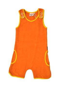 Thousand Steps, 3 Kids, Orange, Kind Mode, Mini, Overalls, Jumpsuit, Suits, Tops