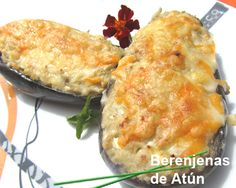 Berenjenas de atún - thermomix Meat Recipes, Mexican Food Recipes, Cooking Recipes, Healthy Recipes, Easy Cooking, Cooking Time, Salada Light, Spanish Dishes, Food Platters