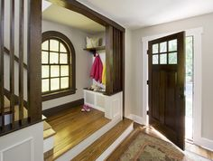 Stained Windows With White Trim Design Ideas, Pictures, Remodel, and Decor - page 3