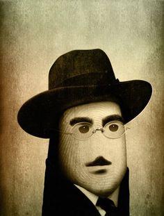 Pulgares célebres: Fernando Pessoa.