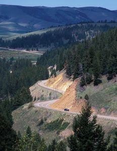Montana's Anaconda-Pintler Scenic Highway, designated State Route 1, leads to impressive views and tranquil scenery, as well as Philipsburg, a gem of a town.