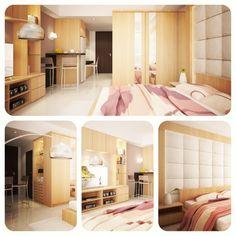 Instagram media by baiueo - U Residence Apartment, Design Alternative 1 #3dvisualization #ibaiueo #architecture #interior #iphonesia #iphoneography