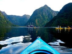 Doubtful Sound AND Milford Sound, New Zealand