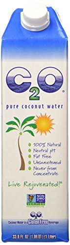 C2o Pure Coconut Water One Liter Tetra Pak *** Click image to review more details.  This link participates in Amazon Service LLC Associates Program, a program designed to let participant earn advertising fees by advertising and linking to Amazon.com.