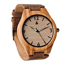 Wooden Watch // Nova from Tree Hut Design. I own this. Really nice!