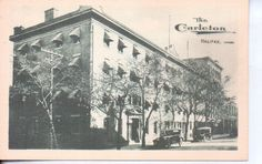 Halifax Nova Scotia Canada THE Carleton Hotel 1920s Cars | eBay