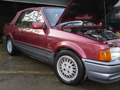 Looking for a ford escort xr3i convertible special edition barn find easy project 1990 2 owner? This one is on eBay.