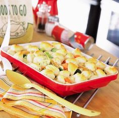 Country Chicken Cobbler | AllFreeCasseroleRecipes.com