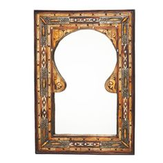 Keyhole Arch Inlaid Moroccan Mirror (Morocco) - Overstock Shopping - Great Deals on Mirrors