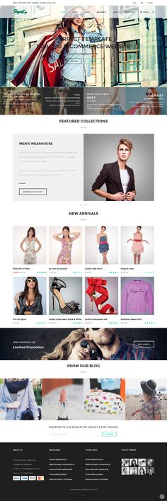 Sopeka - HTML CSS e-commerce Theme by @Graphicsauthor