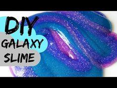 How to Make Glitter Galaxy Slime - DIY Joy