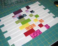 Sew Fantastic: Mug Rug Tutorial :: Scrappy COLORBLOCK