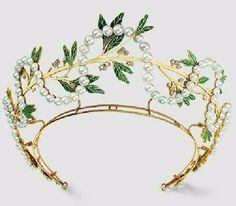 Art Nouveau Tiara, René Lalique, Paris 1903