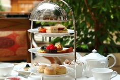 $49 For a High Tea For Two People at Tache Artisan Chocolate, (a $100 Value)