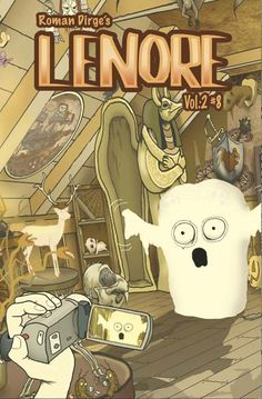 Comic News: A Lenore Character Set to Die in a New Story by Roman Dirge