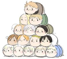 ((EVERYONE HAVE A BUNCH OF HETALIA COUNTRY BURRITOS OKAY THAT IS ALL))<--- *quietly steals the Japan burrito*