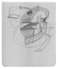 Estudio para la desocupación de la esfera, 1956-57