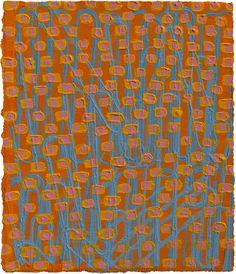 "Quack, Quack   acrylic on paper  5.75 x 4.75""  2008 . by diane ayott"