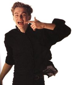 And if he ever did this in front of you you would probably be arrested. | 21 Signs You Are A DiCaprihoe