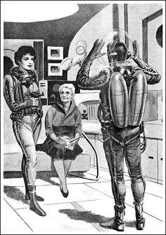 The Galaxy Illustrations Pt 1 ~ 1957-58