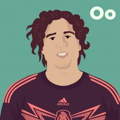 O is for Guillermo Ochoa. #tpitr #worldcupaz #atoz