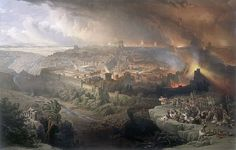 Roman rule over Jerusalem and the region began to be challenged with the First Jewish–Roman War, which resulted in the destruction of the Second Temple in 70 CE. Description from liberallifestyles.com. I searched for this on bing.com/images