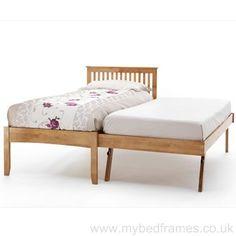 Friar wooden guest bed from mybedframes.co.uk