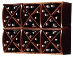 How To Build A Diamond Wine Rack