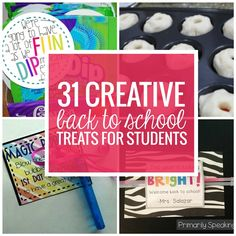 31 Creative Back to