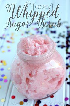 Whipped sugar scrub by Sugar crumbs