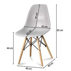 PARIS MILAN LOGANO KRZESŁO DSW krzesła BIAŁE 553AB - 55,50 zł - Allegro.pl - Raty 0%, Darmowa dostawa ze Smart! - Kiełpino/Leszno - Stan: nowy - ID oferty: 7234286793 Milan, Eames, Chair, Furniture, Home Decor, Decoration Home, Room Decor, Home Furnishings, Stool