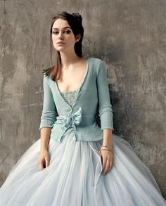 Keira Knightley is a tutu natural. Not my photo, obviously!, but I am often asked for this look. I now have the tulle color :)