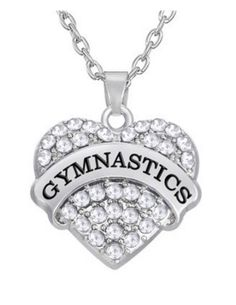 2016 Rio Olympics Gymnastics Pendant Necklace