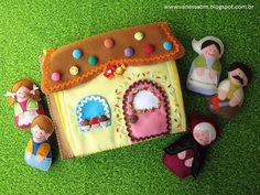 Handbook John and Mary in Felt Operation Christmas Child, Hand Puppets, Finger Puppets, Hansel Y Gretel, Arts And Crafts, Diy Crafts, Cute Stationery, Book Quilt, Busy Book