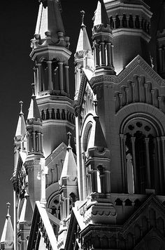 """""""Sts Peter & Paul Church (infrared)  Click the """"pinned from"""" link to purchase this print."""