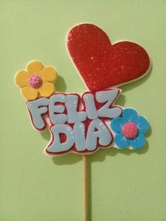 Foam Crafts, Paper Crafts, Diy Crafts, Summer Humor, Diy For Kids, Cake Toppers, Birthday Parties, Kawaii, Lettering