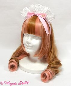 Angelic Pretty Fancy Ribbon Maid-Style Headband in any color (except black)