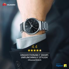 It's exquisite looks make the the best in its class. Click the link to learn more about this smart wearable. Huawei Watch, Casio Watch, Smart Watch, Black Leather, Stainless Steel, Watches, Stylish, Link, Stuff To Buy