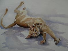 Stretching by Nadia Baumgart