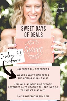 November 29 - December Wanna know which deals are coming which days? Join our insiders' list before November 26 to receive all the info so you won't miss out! Vegan Deodorant, Deodorant For Women, All Natural Deodorant, Organic Lip Balm, Organic Skin Care, Natural Skin Care, Skin Detox, Detox Armpits, 29 December