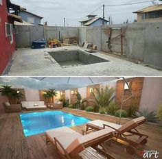 Backyard with swimming pool conversion Source by dssalz Related posts: Backyard with swimming pool conversion Hinterhof Pool 46 Attractive Small Pool Backyard Designs Ideas To Inspire You Inspirierende Design-Ideen für schöne Hinterhof-Deck-Setups – …