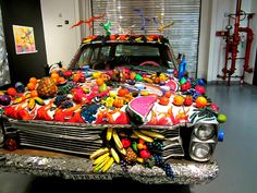 Fruitmobile | in the Art Car Museum in Houston. :) Too funny ...