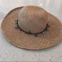 Straw beach hat Straw Beach Hat Accessories Hats