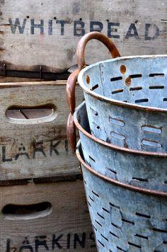 Greek Olive Buckets