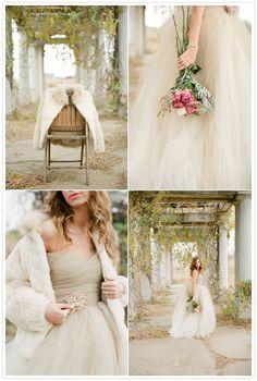 Romantic Fall Wedding Shoot