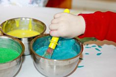 Toddler Dish soap Homemade Paint Recipe ~ Learn Play Imagine