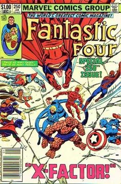 Fantastic Four Covers #250-299